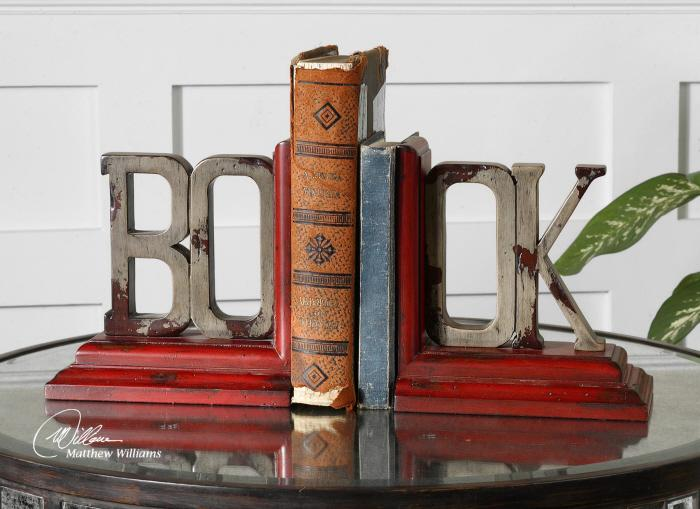 Uttermost 19589 Book, Bookends, S/2 - фото 1