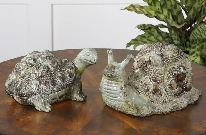 Uttermost 19706 Tortoise and Snail, S/2 - фото 2