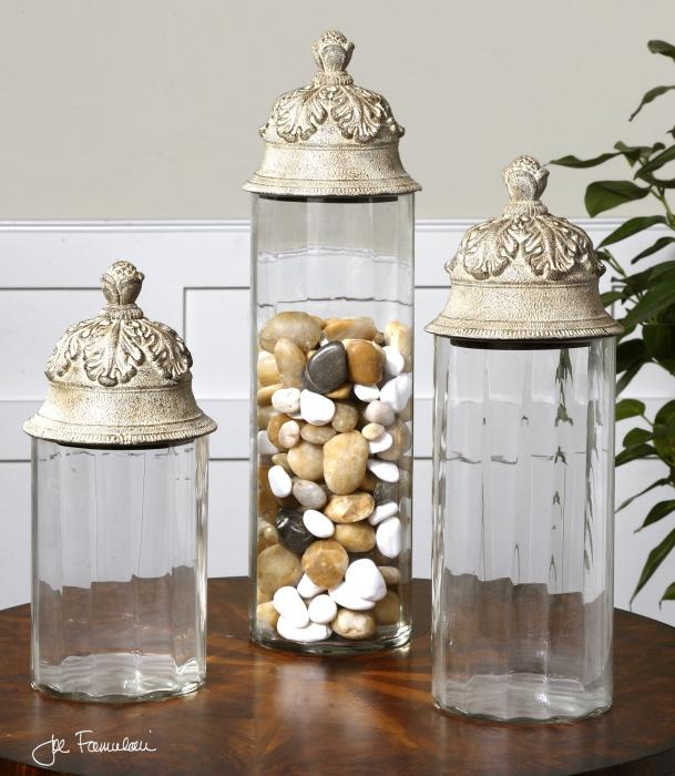 Uttermost 19714 Acorn, Canisters, S/3 - фото 1