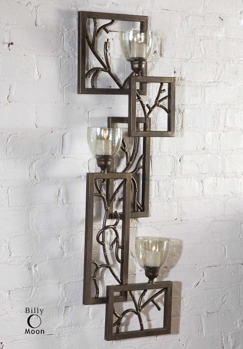 Uttermost 19736 Iron Branches, Wall Sconce - фото 1