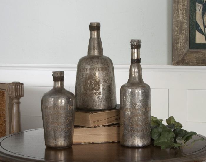 Uttermost 19753 Lamaison, Bottles, S/3 - фото 1