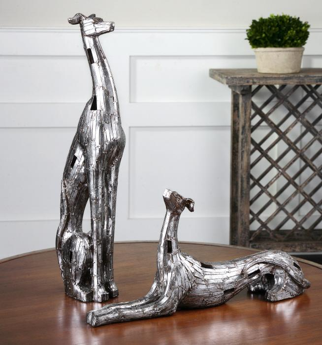 Uttermost 19780 Resting Greyhounds, S/2 - фото 1