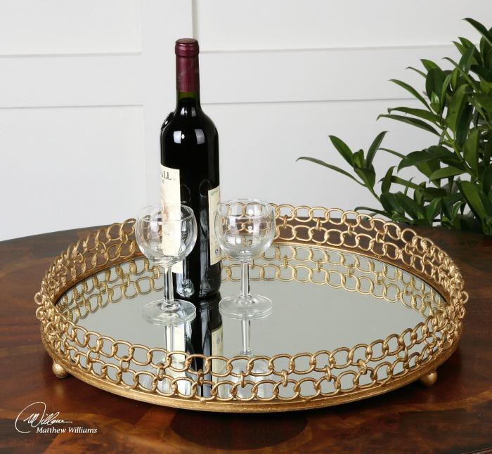 Uttermost 19807 Dipali, Tray - фото 1
