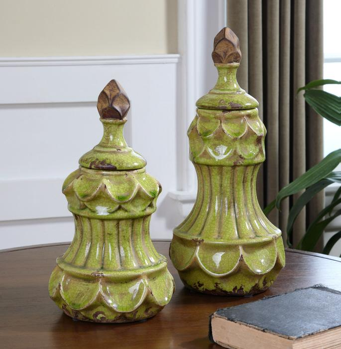 Uttermost 19824 Irvy, Containers, S/2 - фото 1