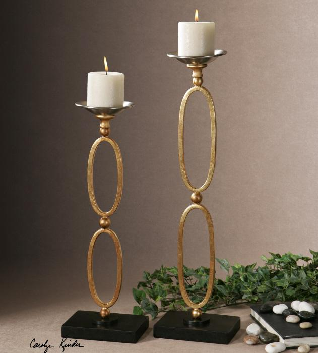 Uttermost 19830 Lauria, Candleholders, S/2 - фото 1