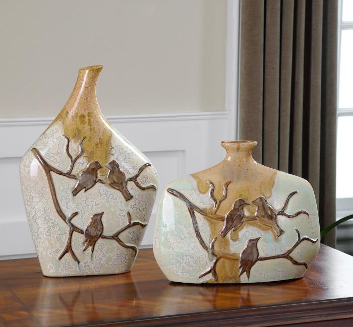 Uttermost 19843 Pajaro, Vases, S/2 - фото 1