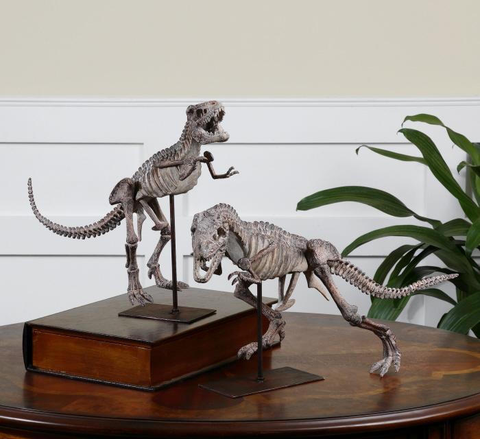 Uttermost 19854 T-Rex, Sculpture, S/2 - фото 1