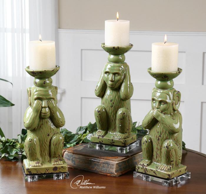 Uttermost 19864 Toma, Candleholders, S/3 - фото 1