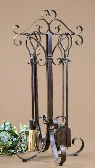 Uttermost 20338 Daymeion, Fireplace Tools, S/5 - фото 1