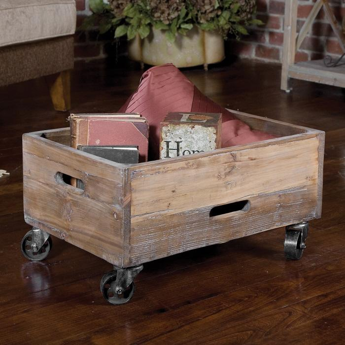 Uttermost 24247 Stratford, Rolling Box - фото 1
