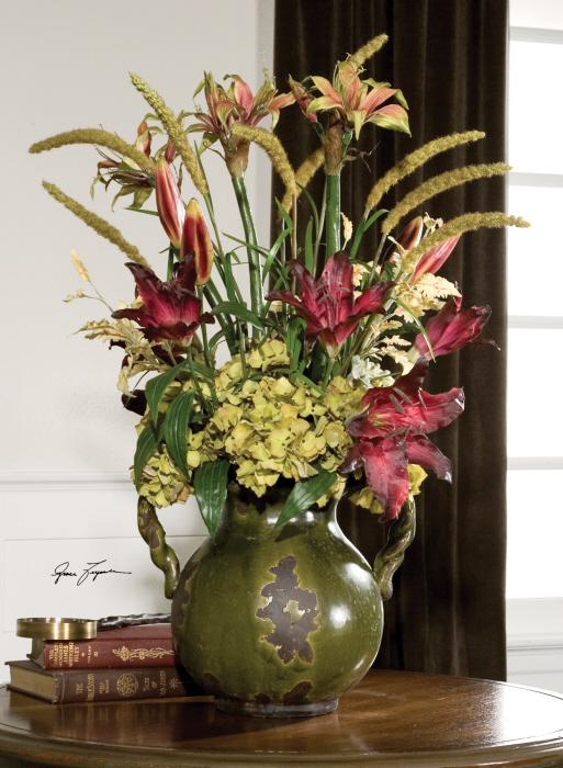 Uttermost 60084 Daylilies In Tuscan Urn - фото 1