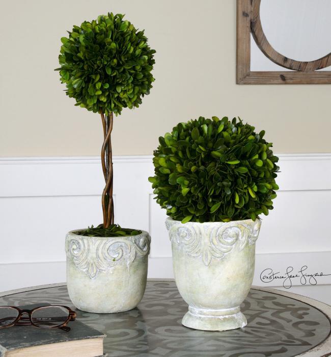 Uttermost 60112 Preserved Boxwood, Ball Topiaries, S - фото 1