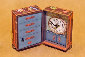 Timeworks Steamer Trunk BCST5S