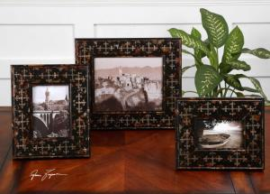 Uttermost 18517 Damir, Photo Frames, S/3