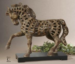 Uttermost 19217 Prancing Horse, Sculpture