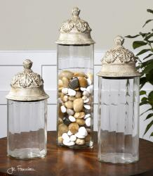 Uttermost 19714 Acorn, Canisters, S/3